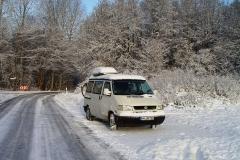 VW  Bulli T4 California Coach, Westfalia, noch weiß