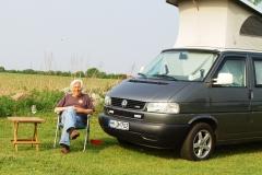 VW Bulli T4 California Coach, Wetfalia, umlackiert.