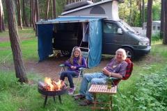 Mit Enkelin Lucia auf der Insel Rügen-Juni 13