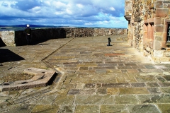 "Lindisfarne/England. Hier hat Roman Polanski seinen Film ""Wenn Katelbach kommt"" gedreht."