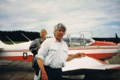 Robin DR 300, D-EFLU, mit Reni auf Urlaubsflugreise durch Dänemark