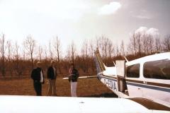 Piper PA 28, D-EDIA, IFR equipped, Einziehfahrwerk, auf der Insel Endelave mit Freunden
