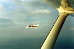 Robin DR 300, D-E FLU über Dänischer Südsee.