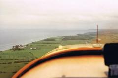 Gegenanflug Landebahn Pöl