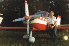 Mit Robin DR 300 D-EFLU auf der Insel Endelave