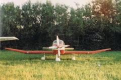 Robin DR 300 D-E FLU,  auf der Insel Endelave